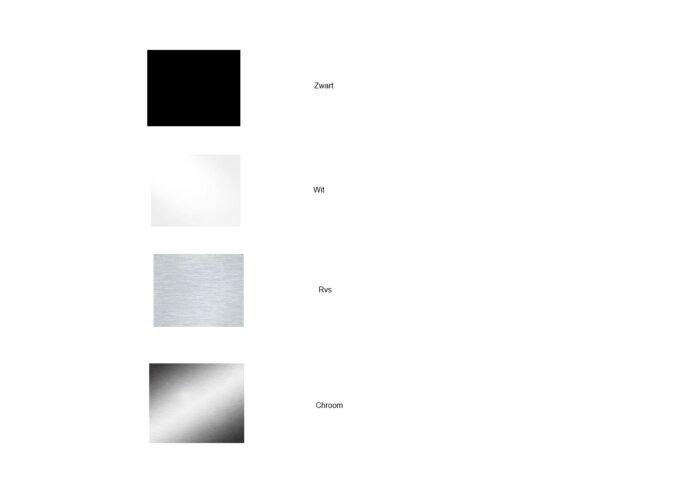 Hoekplanchet Shangle Driehoek 47 cm Recht of Rond (4 kleuren)