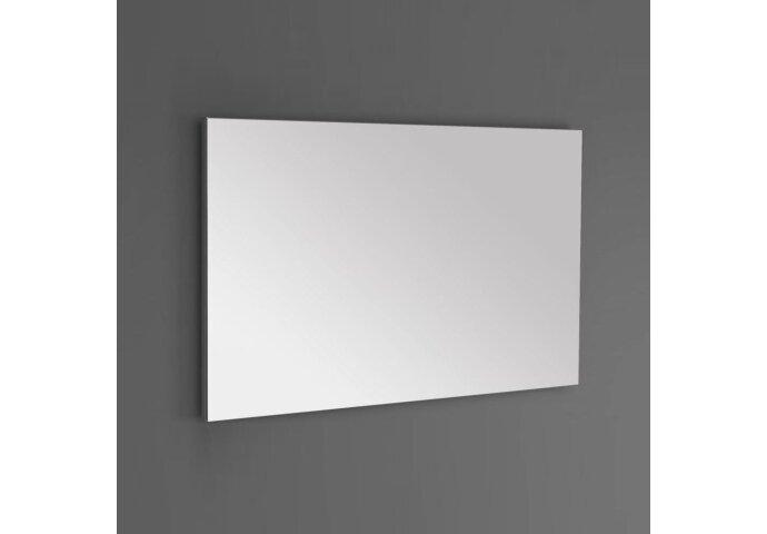 Badkamermeubel Sanilux PL 100 Greeploos Incl Spiegel En Wastafel Light Wood Multiplex 100x47x50 cm