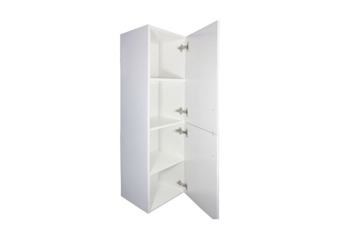 Kolomkast Best Design Lours 120x35x30 cm Hoogglans Wit