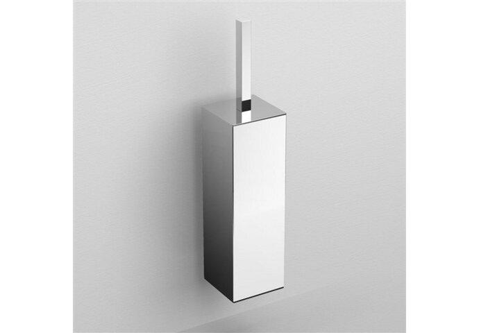 Toiletborstelgarnituur Clou Quadria Wandmodel Chroom