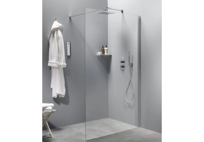 Inloopdouche BWS Free Time 90x200 cm Timeless Coating Chroom