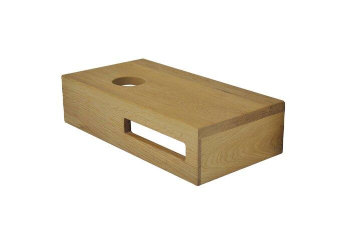 Fonteinplank BWS Oak Planchet 40x21x10 cm Links