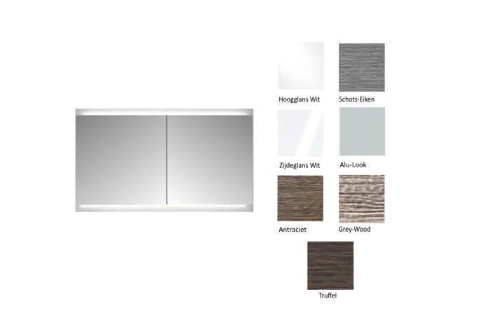 Spiegelkast Sanicare Qlassics Ambiance (alle kleuren, alle maten)-detail