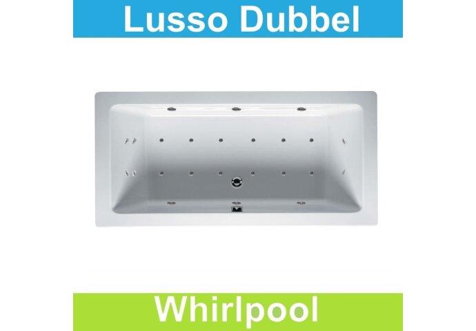 Ligbad Riho Lusso 190 x 80 cm Whirlpool Dubbel systeem
