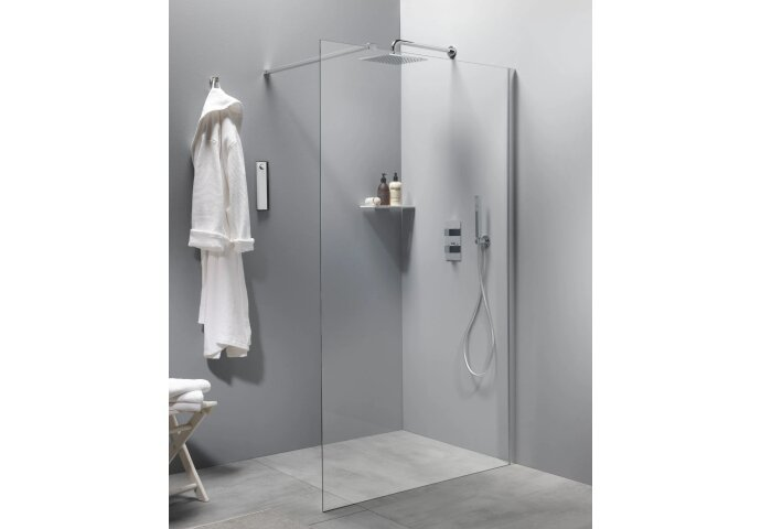 Inloopdouche BWS Free Time 100x200 cm Timeless Coating Chroom