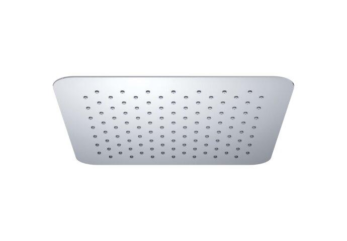 Luxe hoofddouche vierkant 300mm Ultra plat chroom (Regendouche onderdelen)