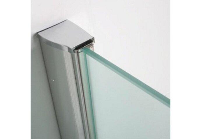 BWS Muurprofiel voor Glaswand dikte van 1 cm  L=200 cm