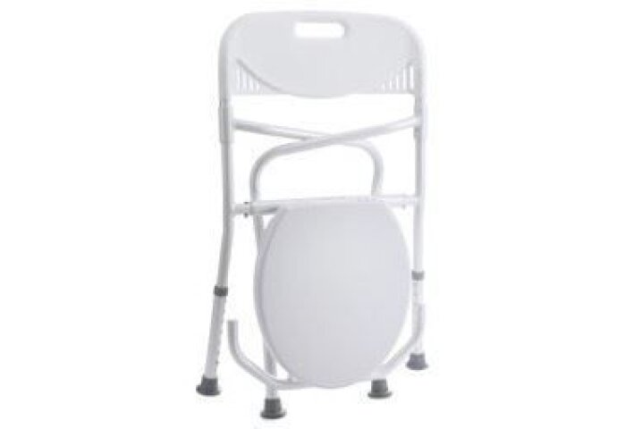Handicare  Opklapbaar Toiletframe Met Rugleuning Wit