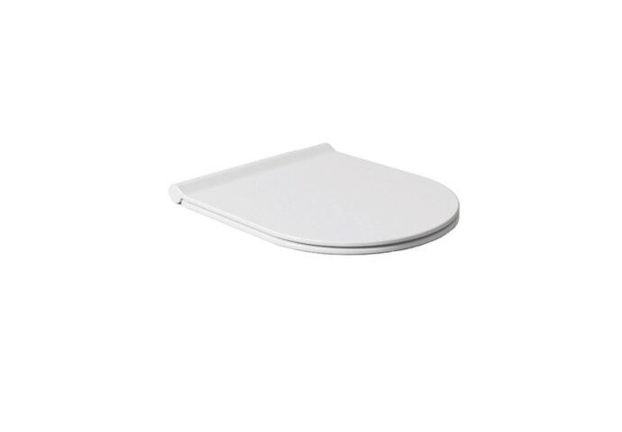 Toiletzitting Salenzi Form Slim Mat Wit