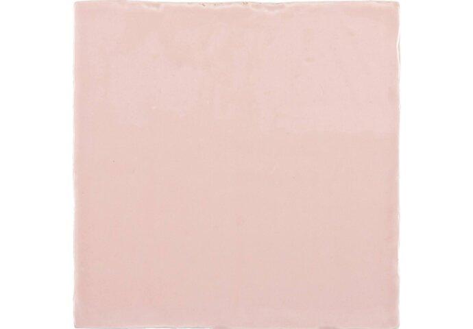 Vtwonen Wandtegel Villa Army Pink Glans 13x13 cm (doosinhoud 0.50 m2)