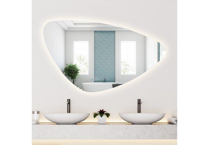 Spiegel Gliss Design Strano Organic Framework Rond Verlichting 60cm