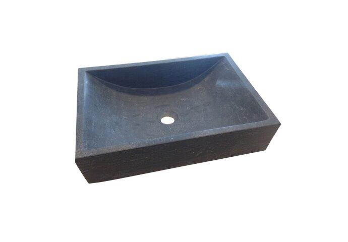 Waskom Sanilux Nature Box Natuursteen 50x35x12cm