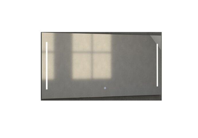Badkamerspiegel met LED Verlichting Sanitop Deline 140x70x3 cm