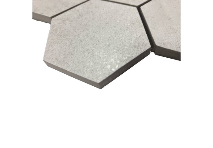 Mozaïek Hexagon Alaplana MYSORE White Mat (doosinhoud 0.98)
