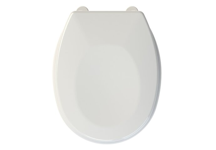Toiletzitting Allibert Bristol 37x5,5x46 cm Anti-Bacterieel Wit
