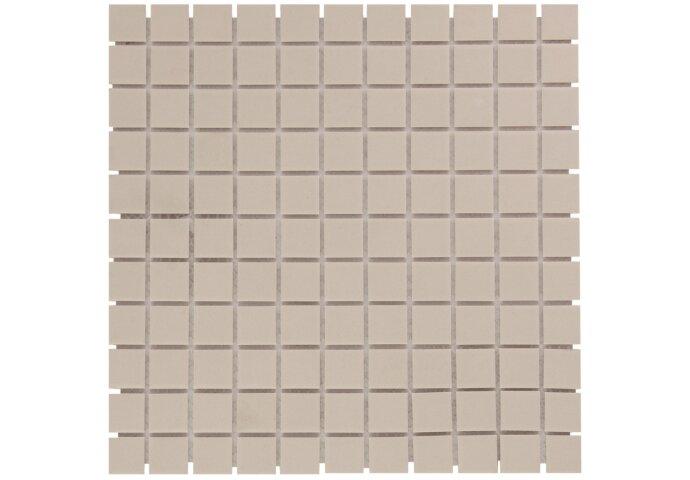 Mozaïektegel The Mosaic Factory London Vierkant 23x23 mm Beige