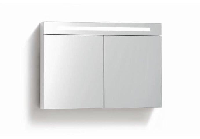 Spiegelkast met verlichting & wcd 90 cm