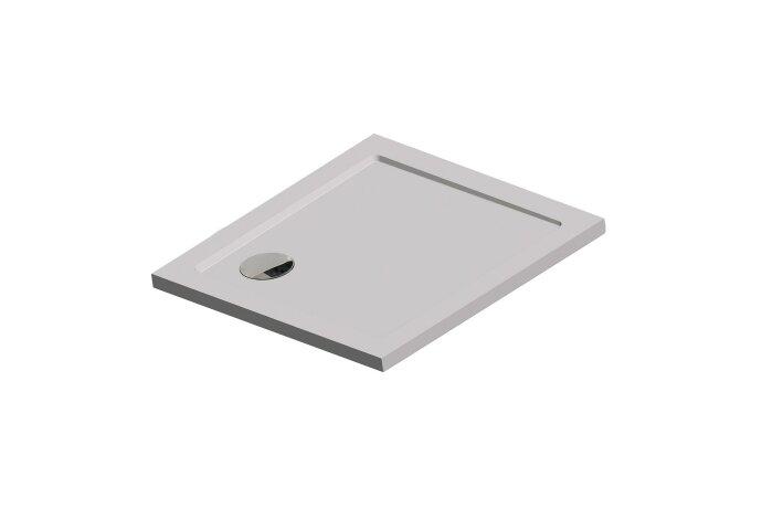 Douchebak Get Wet by Sealskin Fusion Vierkant 80x80 cm Inbouw Wit