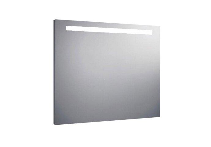 Spiegel Sanilux Mirror 80x70x4.5cm Aluminium met TL verlichting