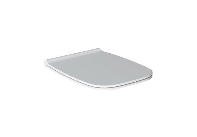 Toiletzitting Salenzi Nur Soft-Close Quick Release Glanzend Wit