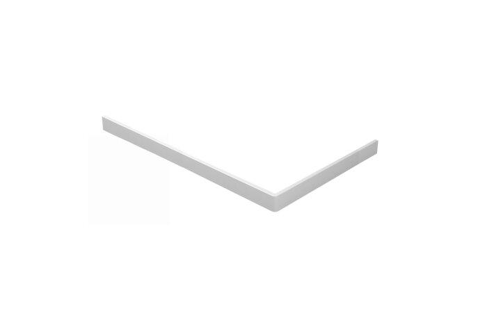 Voorzetpaneel met Poten Wiesbaden tbv Rechthoekige Douchebak Acryl 160x90x4 cm Wit