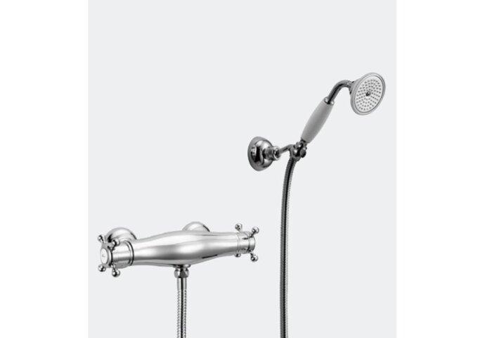 Huber Victorian Thermostatische Douchekraan met handdouche VTD0101021 Chroom