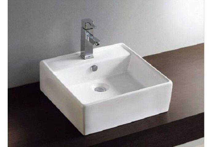 Larx wastafel 460x460x165mm