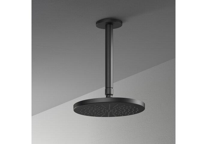 Hoofddouche Hotbath Mate Opbouw 20 cm Mat Zwart