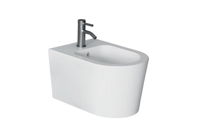 Bidet Salenzi Form Square Glanzend Wit (exclusief kraan)