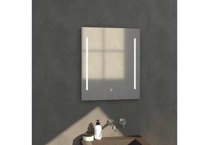 Badkamerspiegel met LED Verlichting Sanitop Deline (zeven verschillende maten)