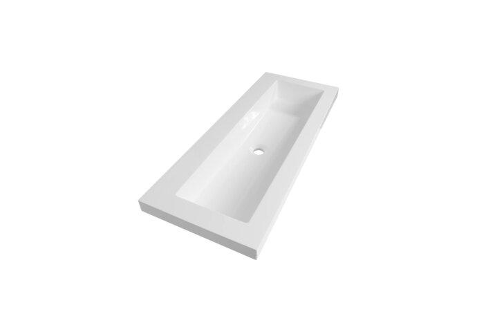 Wastafelblad Exclusive Line 100 XXS Artificial Stone 1 Kraangat