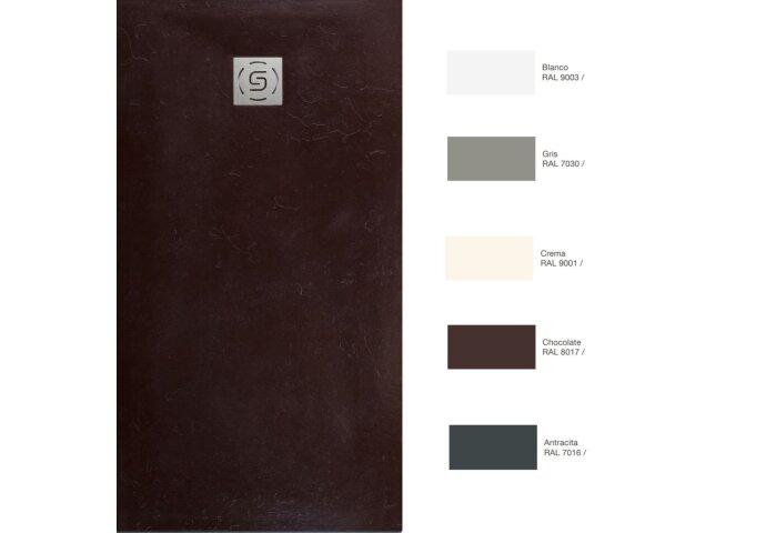 Douchebak Wood Textuur Bruin of Grijs (In meerdere maten beschikbaar)