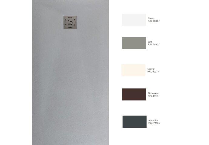 Douchebak Slab Standaard Stone (In meerdere maten en kleuren beschikbaar)