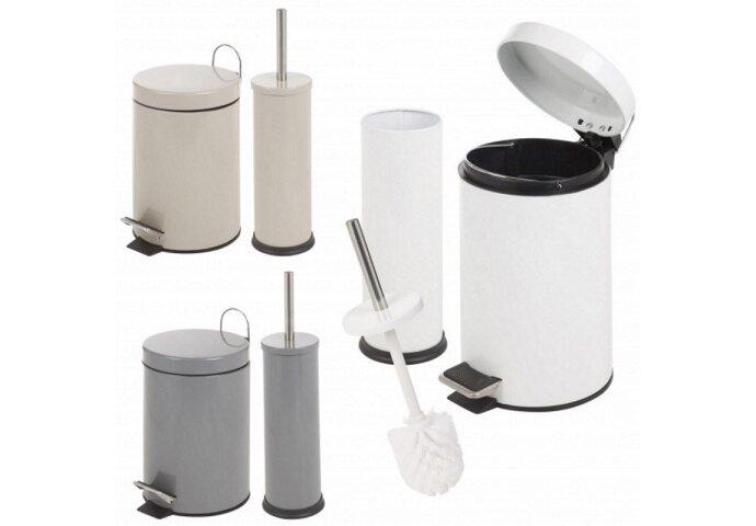 Complete Toiletaccessoireset Basic Wit