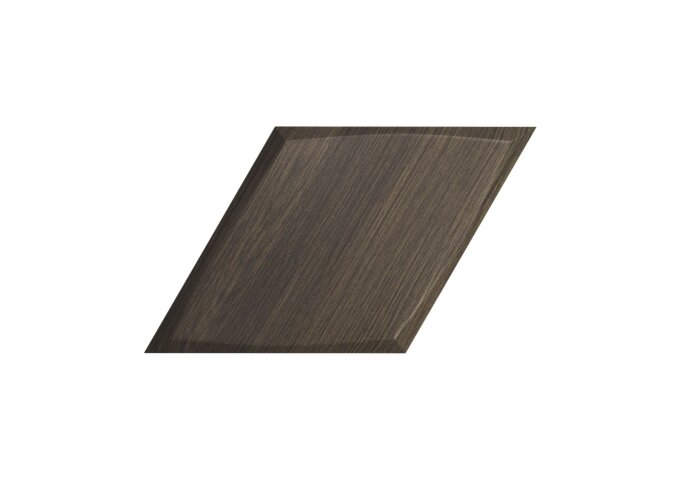 Wandtegel Zyx Diamond Zoom Walnut Wood 15x25.9 cm Donker Hout