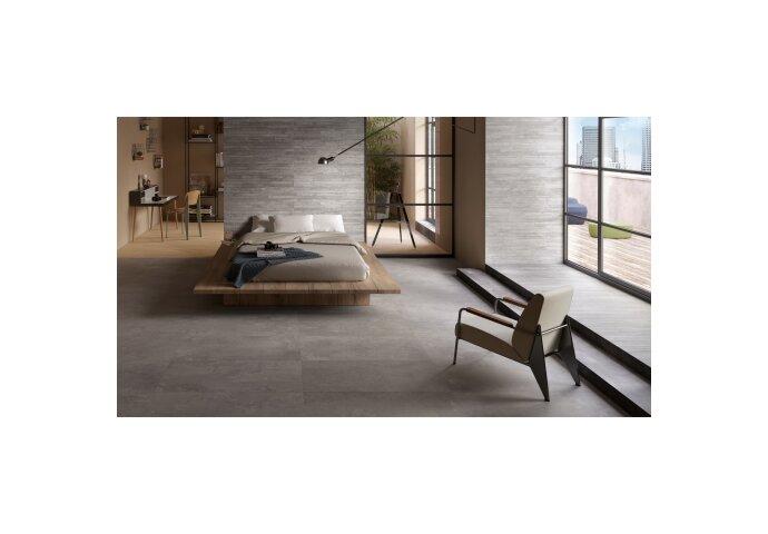 Vloer- en Wandtegel Vtwonen Raw Casa Decor 30x60 cm Donkergrijs (Doosinhoud: 1,08 m²)