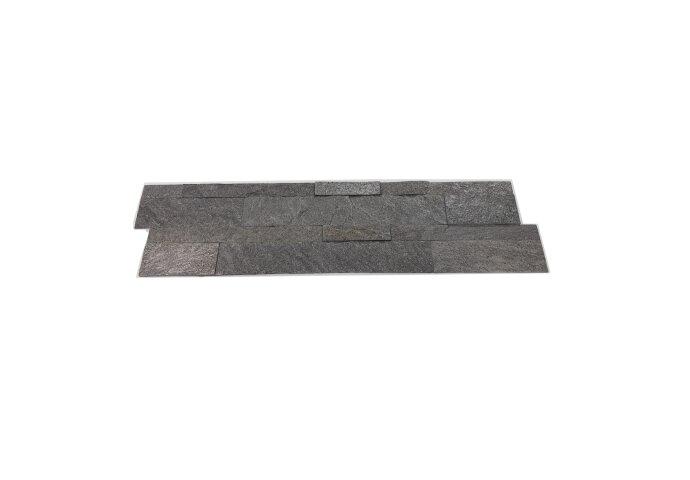 Natuursteen Steenstrips Rockwall London Sapphire 60x15cm (Doosinhoud 0.90 m2)