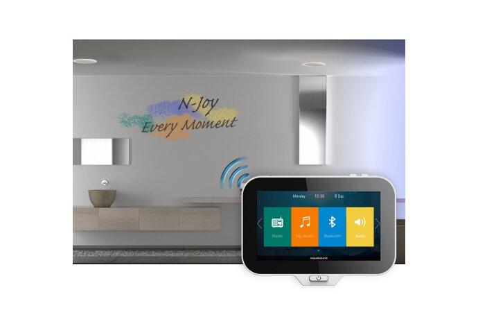 Controller Aquasound N-Joy Waterdicht (IPX7) t.b.v. Music Center + Wand Lader/Adapter (16GB)