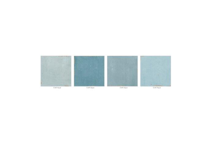 Vtwonen Wandtegel Craft Aqua 12.4x12.4 cm (Doosinhoud 0.42 m2)