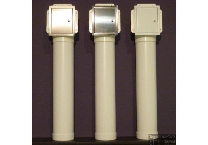 Inbouw Toiletrolhouder Etsero Roll Up (voor 6 rollen) MAT ZWART