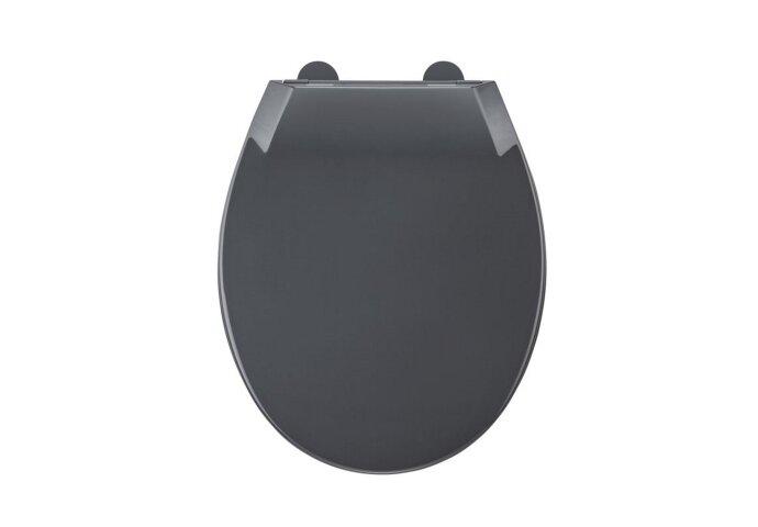 Toiletzitting Allibert Mila Afklikbaar 37,2x5,2x45 cm Soft-Close Kunststof Antraciet