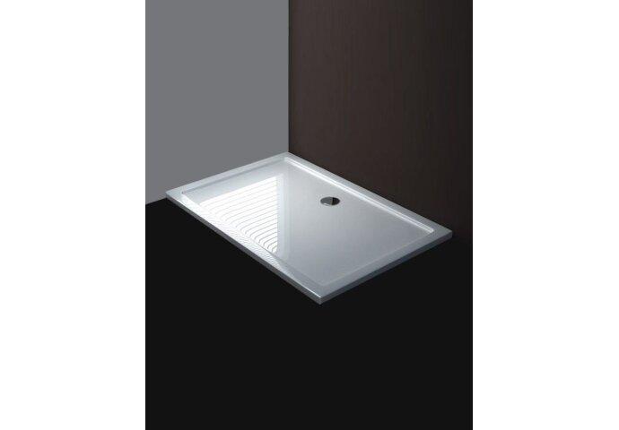 Luxe douchebak SMC rechthoek 120 x 90 x 4 cm wit