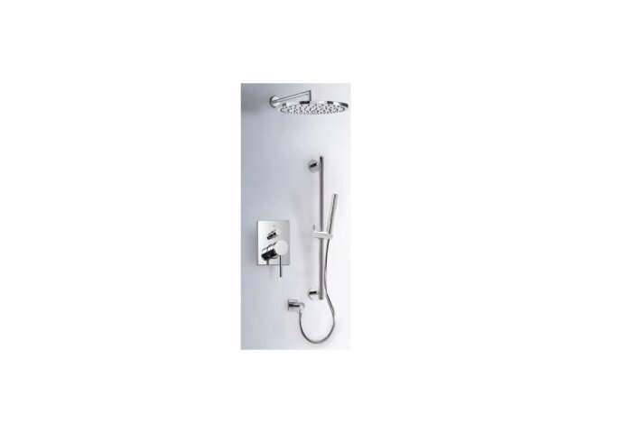 Tres Mono-Term inbouw doucheset thermostatisch chroom 06218007