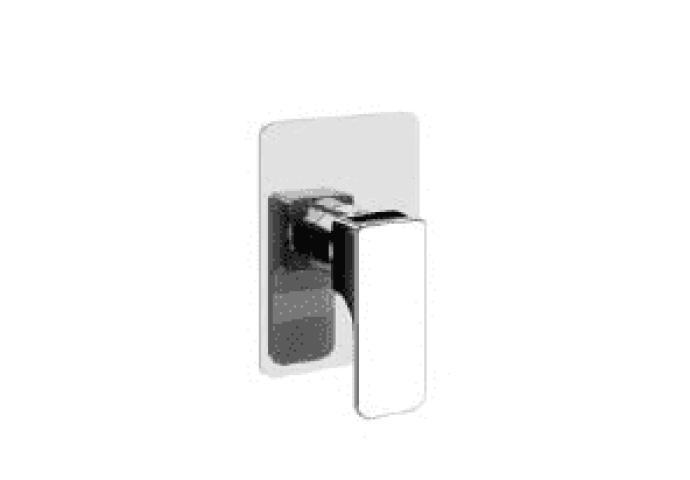 Cisal Cubic afdekset inbouwmengkraan chroom CU00300021