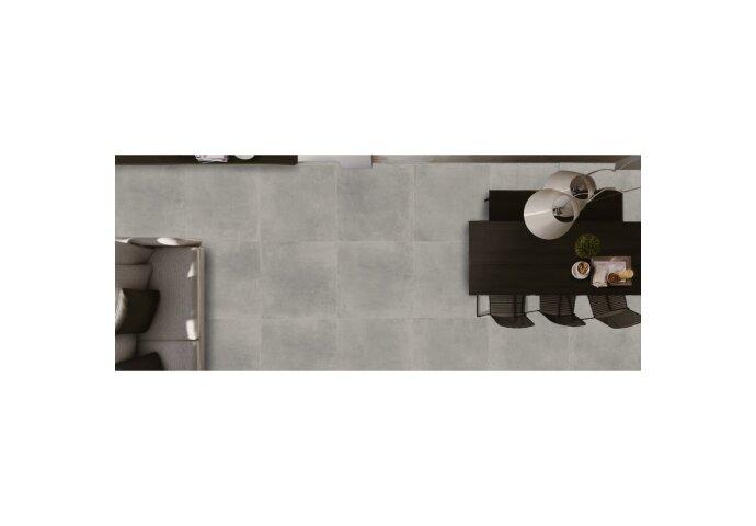 Vloertegel Flaminia Space Ash 60x60 cm (doosinhoud 1.08 m2)