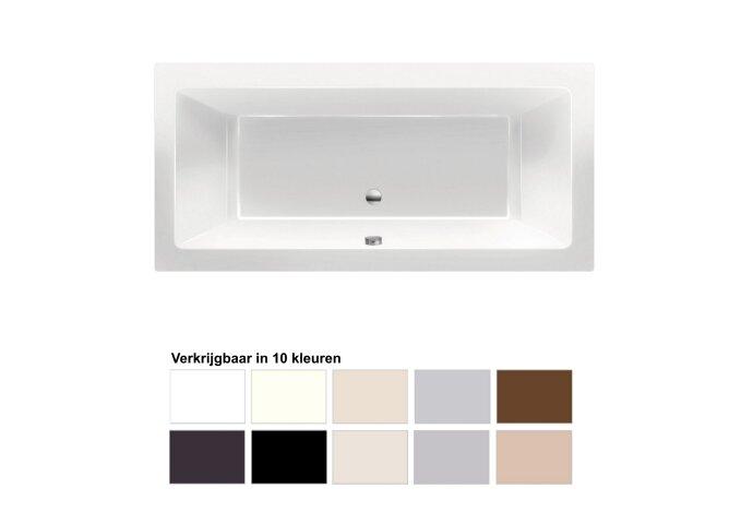Ligbad Xenz Society 170x75x50 cm Inbouw Acryl (Verkrijgbaar in 10 kleuren)
