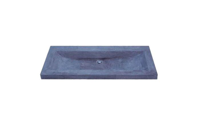 Wasblad Sanilux Trend Stone 100x47x5cm Natuursteen (zonder kraangat)