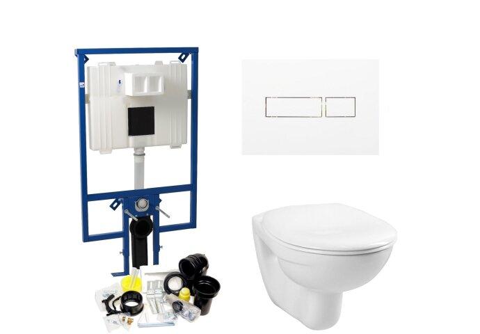 Plieger Flair Compact Toiletset set01 Boss & Wessing Basic Smart met DF Flair drukplaat