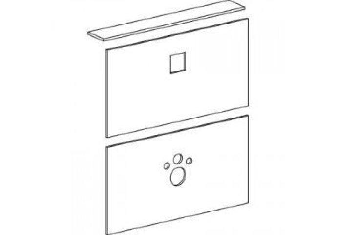 Wisa XS afbouwpakket voor WC-element XS-L