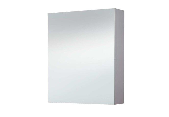 Spiegelkast Sanilux White zonder verlichting Hoogglans Wit 58x70x16cm Links